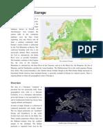 Geo of Europe