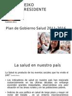 Plan de Gobierno Salud Fuerza 2011 23.05.11