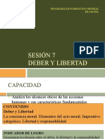 Sesion 7 - Deber y Libertad