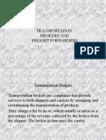 Transport & Freight Forwarding