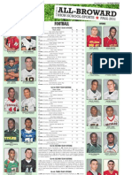 2010 Broward County Football Allstars