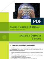 Análisis y Diseño de Sistemas I
