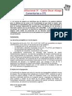 Comentarios a STC Que Han Caido en Examenes Constitucional IV