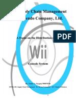 Nintendo Wii Supply Chain Paper