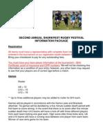Sharkfest 2011 Information Package