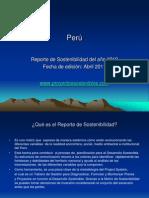 Perú, Reporte de Sostenibilidad 2010 - 2009