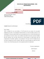 Carta Resposta a Reclamação