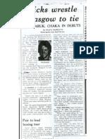 Kicks Wrestle Glasgow Star Trib May 27 1976