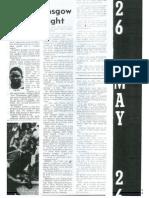 Kicks, Glasgow Clash Tonight May 26 1976 Dispatch