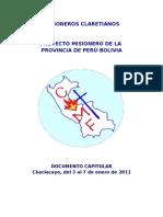 Documento Capitular Final 2011[1]