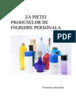 Analiza Pietei Produselor de Ingrijire Personala