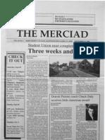 The Merciad, Sept. 27, 1990