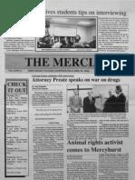 The Merciad, Nov. 1, 1990