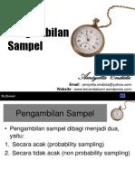 teknikpengambilansampel-100721210733-phpapp02