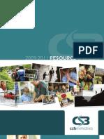 (2009-2011) Christian Service Brigade Catalogue