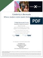 Celebrity Bermuda Special