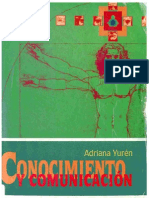 Conocimiento y Comunicacion (Adriana Yuren)