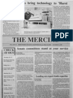 The Merciad, Oct. 31, 1991