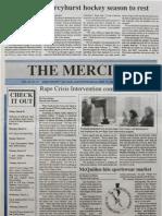 The Merciad, March 26, 1992