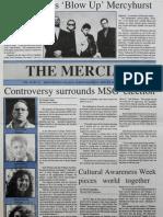 The Merciad, April 30, 1992