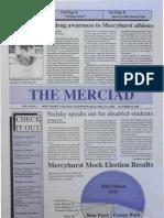 The Merciad, Oct. 29, 1992