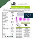 EarthLED GrowLED High Powered Panel - 200 Watt