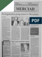 The Merciad, March 18, 1993