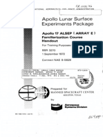 60a0f38410a Apollo Lunar Surface Experiments Package. Apollo 17 ALSEP (Array E)  Familiarization Course Handout