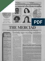 The Merciad, April 22, 1993