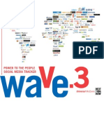 Etude Wave 3 - Social Media - Mars 08