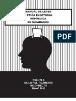 Manual de Leyes y Etica Electoral Nicaragua