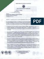 Carta de La Dimar a La Alcaldesa - Marzo de 2011 !!