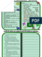 Capitalization and Punc Guide