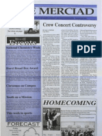 The Merciad, Oct. 20, 1994