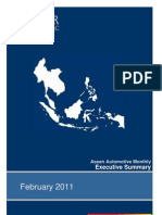 Asean Automotive Monthly - Executive Summary (02.11)