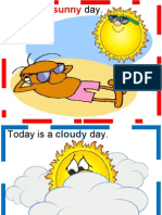 Weather Flascards
