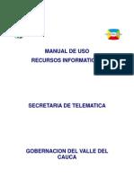Manual de Uso Recursos cos GobValle