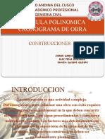 Expo Sic Ion Formula Polinomica