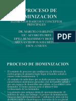 El Proceso de Hominizacion