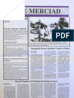 The Merciad, March 21, 1996