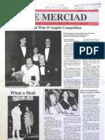 The Merciad, April 25, 1996