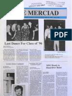 The Merciad, May 2, 1996