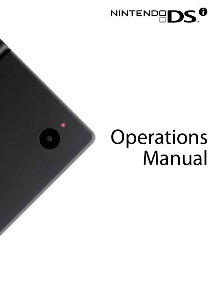 nintendo dsi english battery electricity headphones rh scribd com Nintendo DSi XL Nintendo DSi Operations Manual UK
