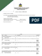 Pedagogia UFSC Curriculo 2009 Comp Com Ementas PDF