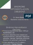 SINDROME HIPOVENTILACION OBESIDAD