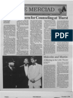 The Merciad, Nov. 7, 1996