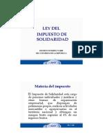 Impuesto de Solid Arid Ad Dto. 73-2008