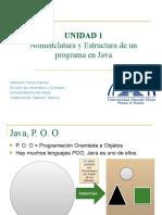 4. Nomenclatura y Estructura de Un Programa en Java