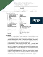 Silabo de Biologia Celular y Molecular- 2011