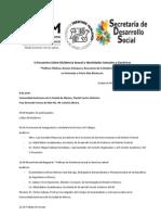 V Encuentro Sobre Disidencia Sexual e Identidades Sexuales y Genéricas.